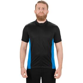 SQUARE Performance Maillot à manches courtes Homme, blue'n'black